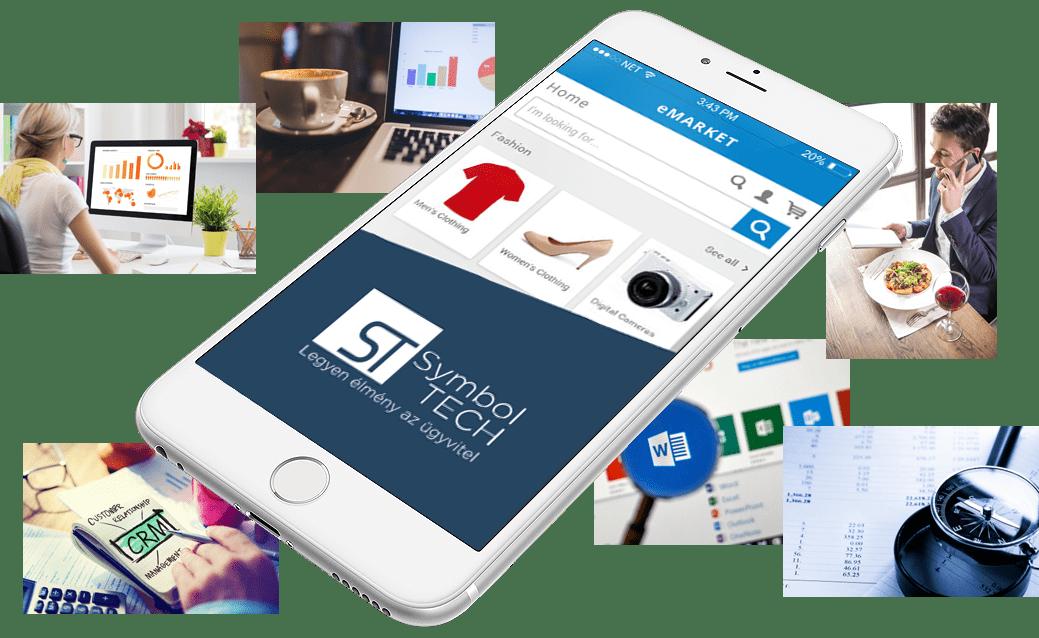 Vállalatirányítás + Webáruház
